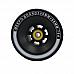 Black offset wheels 100*58 mm, 78A - Meepo